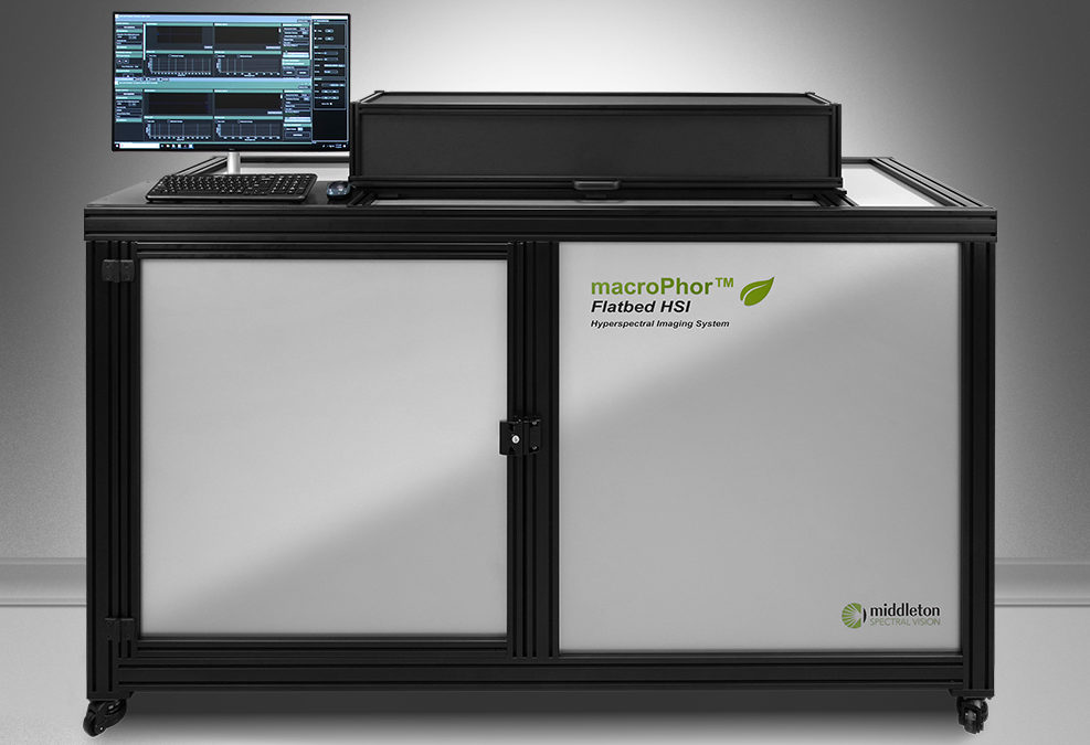 macroPhor™ Flatbed HSI Hyperspectral Fluorescence Imaging system
